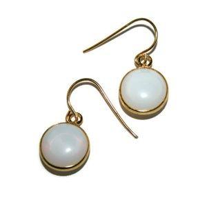 Natural Dainty Opalite Earrings for Women